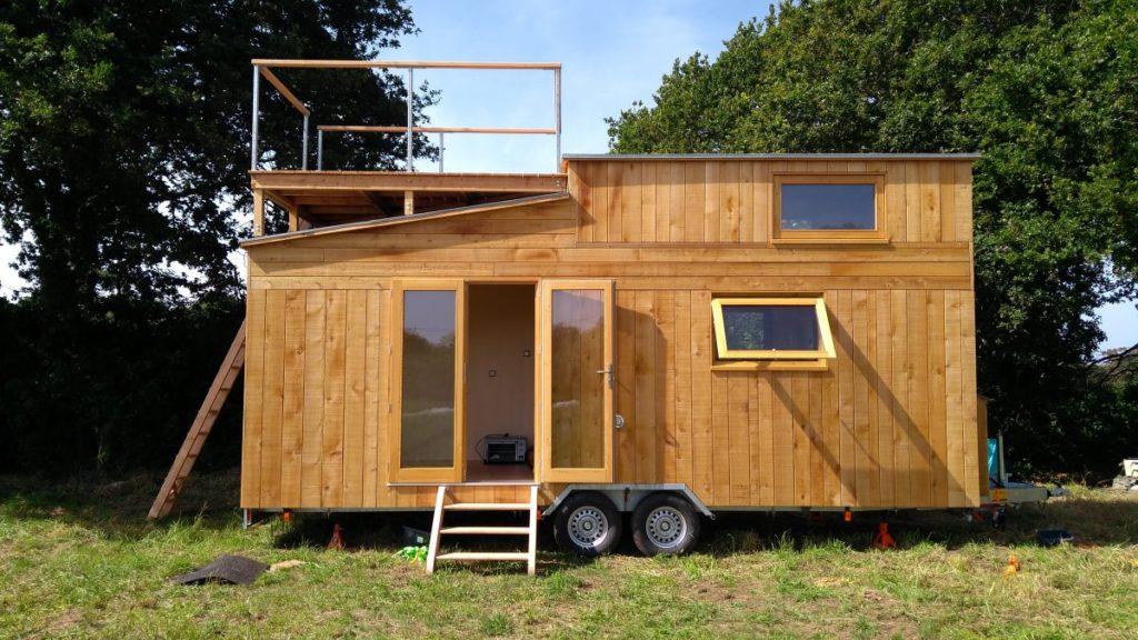 la panoramique ty rodou tiny house bretagne. Black Bedroom Furniture Sets. Home Design Ideas