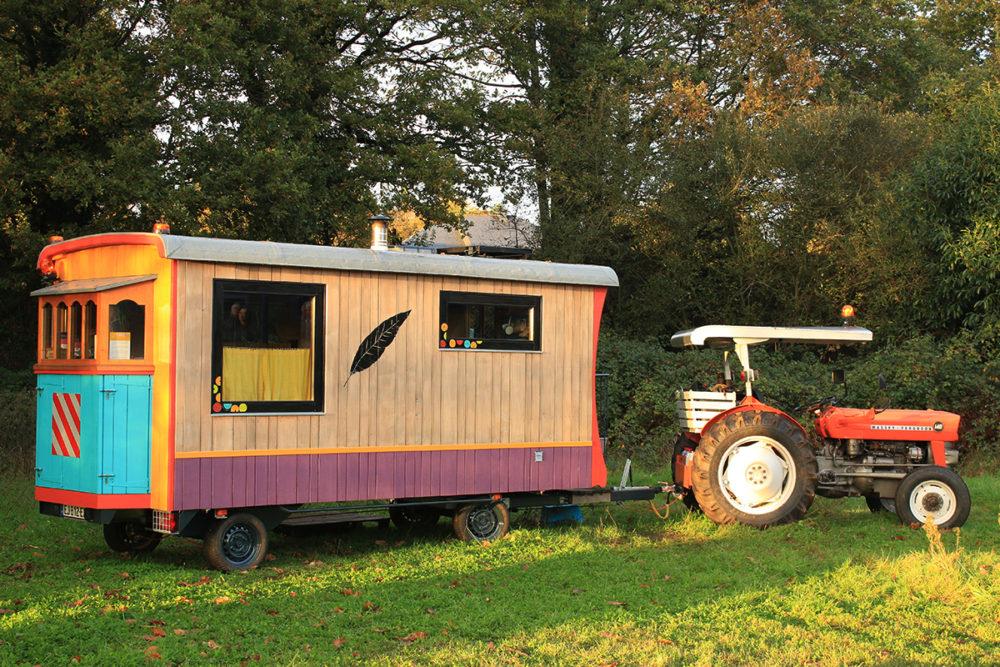 petites maisons en bois roulantes